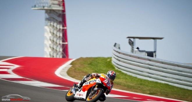 Márquez sigue al frente del test en Austin a mitad del 2º día