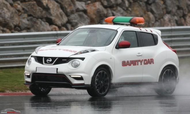 Nissan Juke Nismo coche de seguridad del Campeonato de España de Resistencia