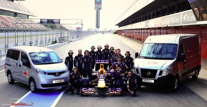 Nissan continuará ofreciendo vehículos comerciales ligeros al equipo Red Bull Racing