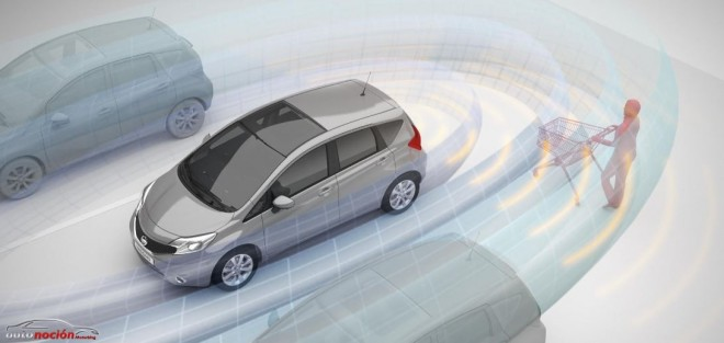 Nissan Note y su nuevo sistema de visión Safety Shield