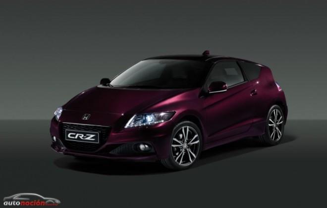 Nuevo Honda CR-Z: Más potencia, más equipamiento y mejor calidad
