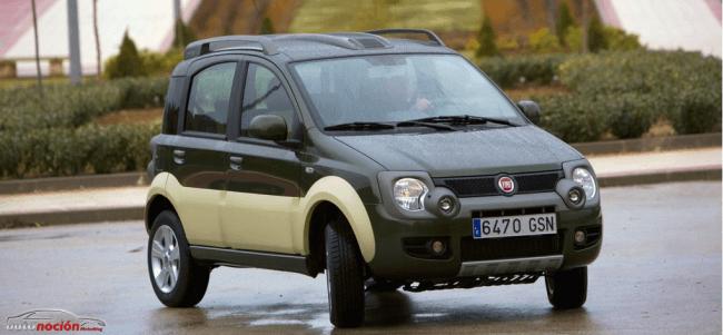 Más novedades Fiat: Panda 4×4 bicolor concept