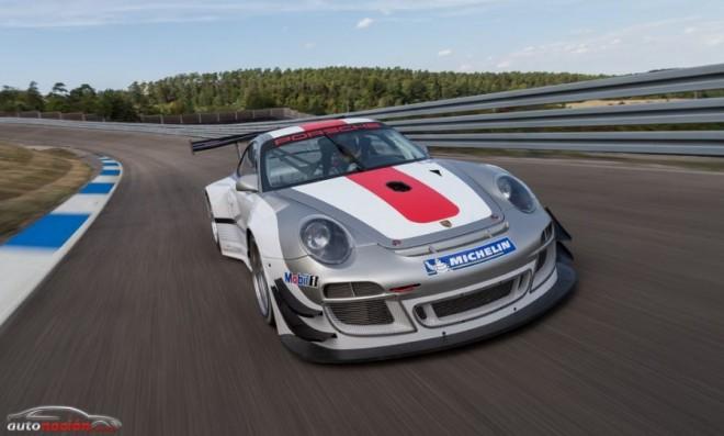 Nuevo Porsche 911 GT3 R: 500 cv, mejor suspensión y aerodinámica para 2013