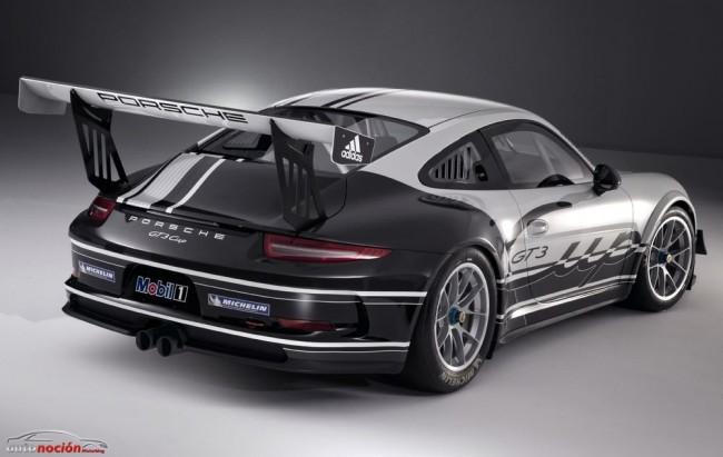 El Porsche 911 GT3 Cup irá directo a la copa monomarca