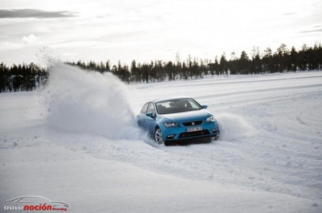 Seat prueba el nuevo León SC en condiciones extremas de nieve