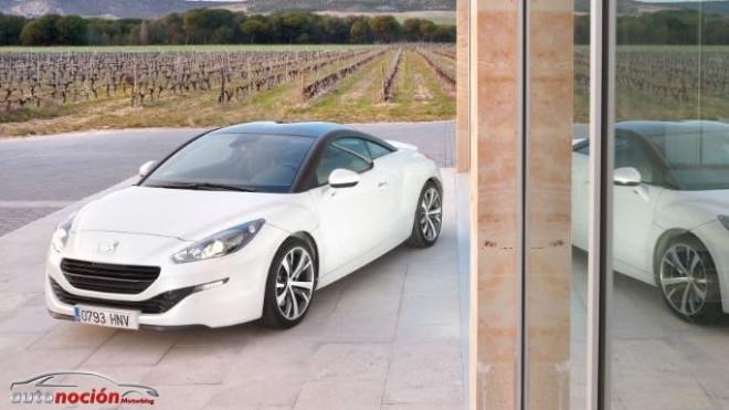 Ya disponible el nuevo Peugeot RCZ
