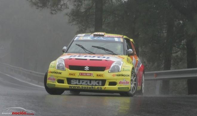 Gorka Antxustegi, líder del Campeonato de España de Rallyes