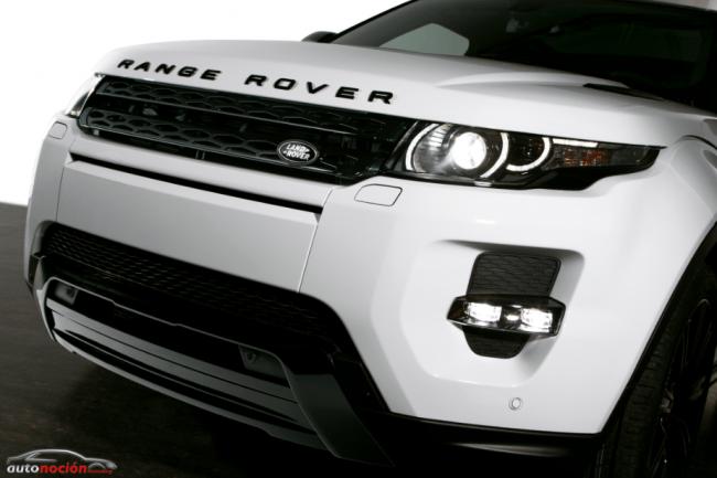 """Nuevo """" Black Design Pack"""" para Range Rover Evoque"""