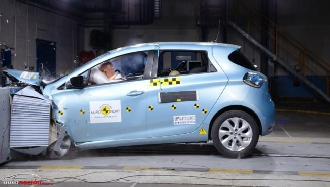 El Renault ZOE consigue 5 estrellas en las pruebas de choque