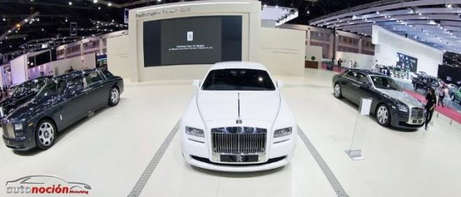 Rolls-Royce presenta en Bangkok su colección Art Deco