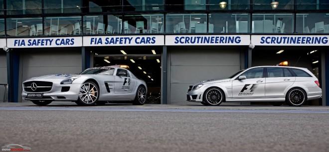 SLS AMG GT y C 63 AMG Estate: La importancia en la F1