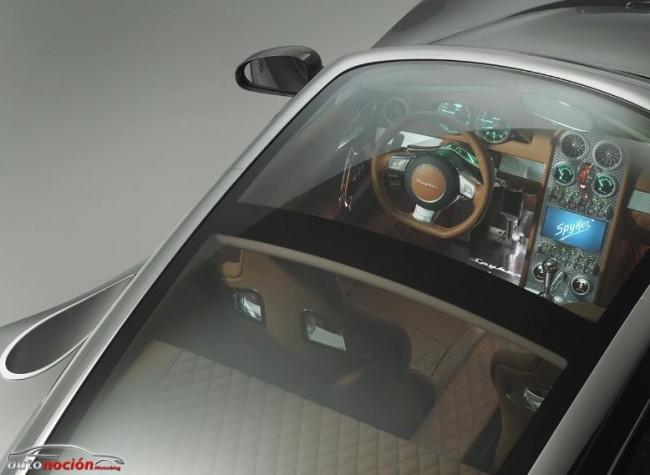 Spyker B6 Venator Concept: Fibra de Carbono, Aluminio y 370 cv