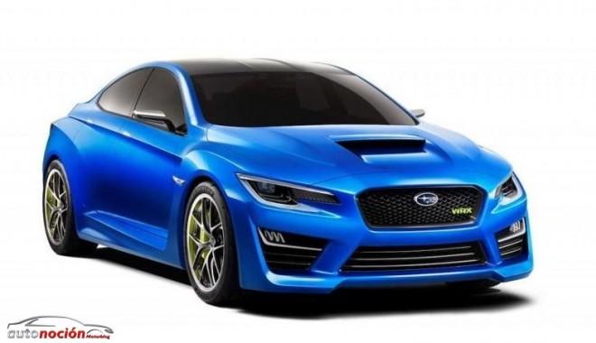 Subaru Concept WRX: Primeras imágenes oficiales