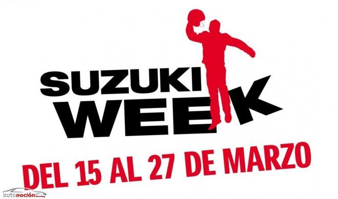 Semana de ofertas en las motos Suzuki