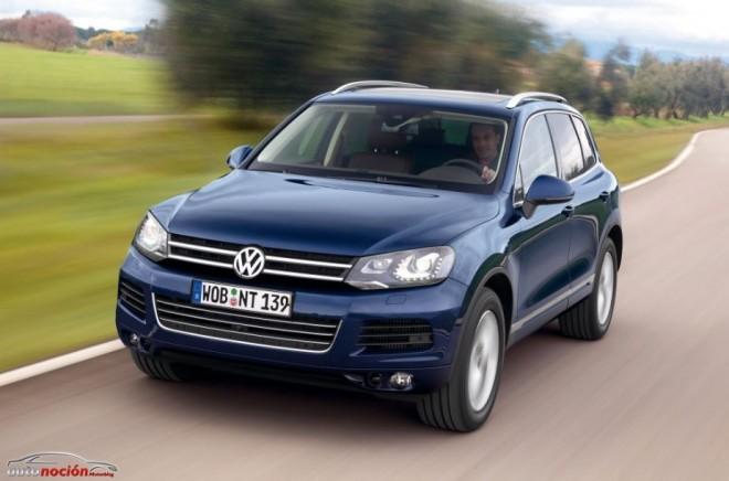 Volkswagen presenta el Touareg Pure
