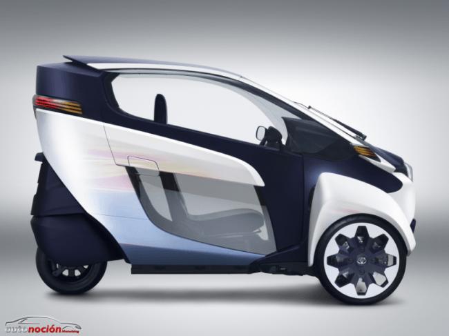 Una nueva forma de transporte: Toyota i-ROAD