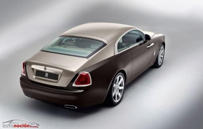 Rolls-Royce Wraith: La máxima deportividad de la marca a la venta desde 245.000 euros