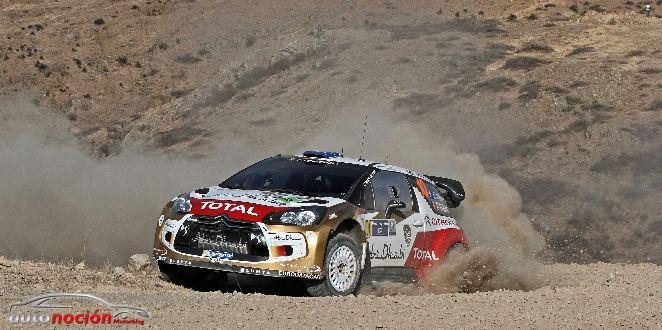 Los DS3 WRC en buena posición y pisando los talones