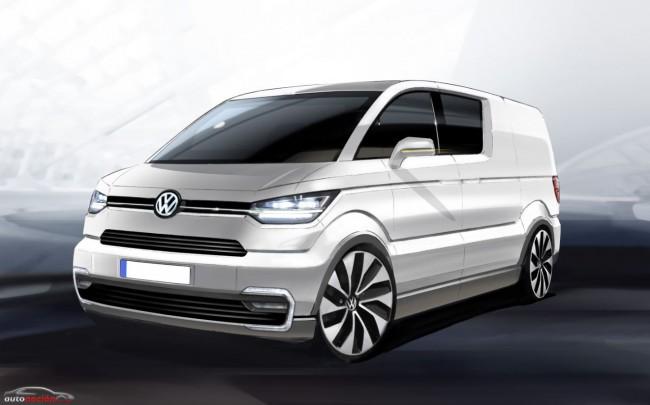 Volkswagen e-Co-Motion: ¿El futuro del reparto?