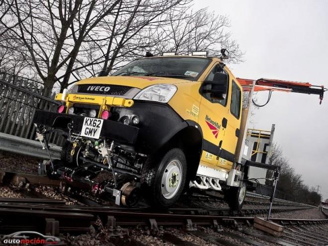 Iveco contribuye al mantenimiento ferroviario de Gran Bretaña
