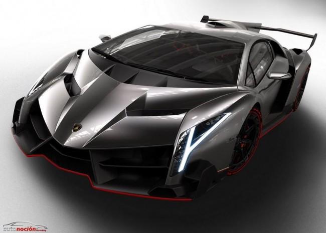 Lamborghini Veneno: 3 unidades a 3 millones de euros cada una