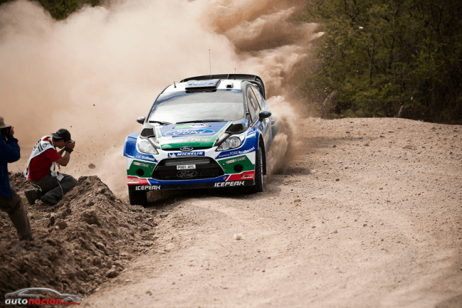 Preocupación por los neumáticos en el rally de México
