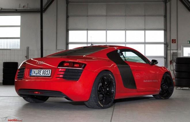 Audi R8 e-tron: Un coche a la altura de un superhéroe