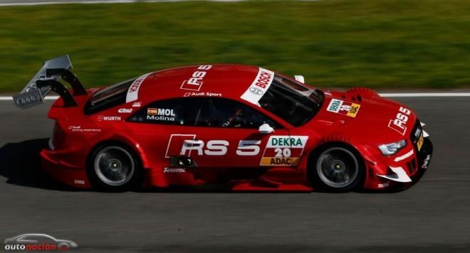 El Audi RS 5 DTM listo para Hockenheim