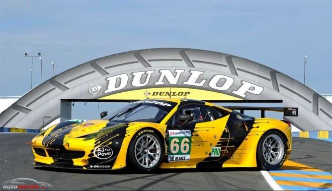 Dunlop te invita a diseñar un Ferrari F458 GT2 para las 24 horas de Le Mans