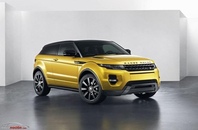 El Range Rover Evoque Sicilian Yellow partirá de 60.160 euros