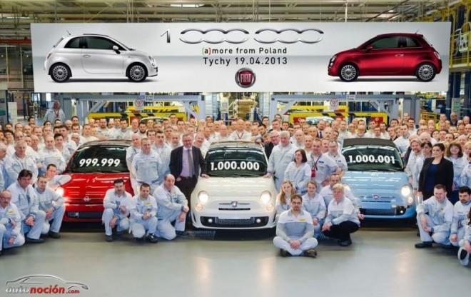 Fiat Auto Poland: producidos 1 millón de Fiat 500