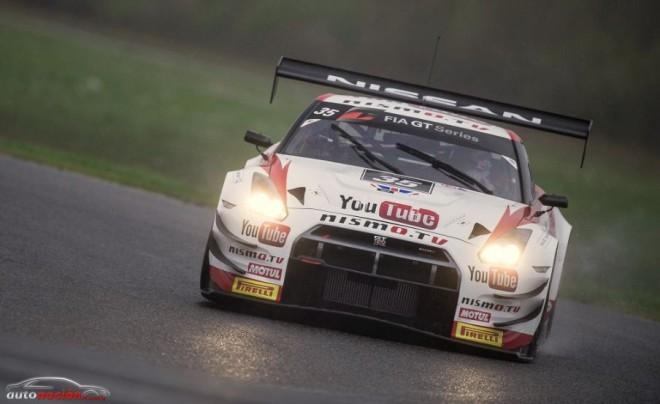 Podio para Lucas Ordoñez y su Nissan GT-R Nismo en las FIA GT Series
