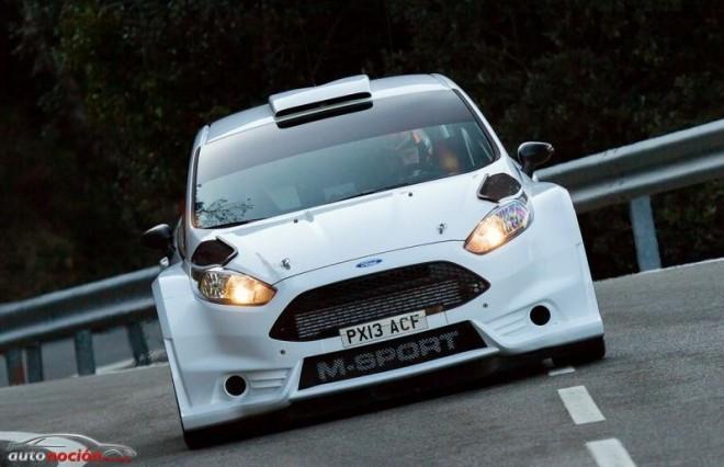 El Fiesta R5 impresiona tras seis días de test
