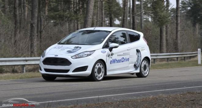Ford presenta el Proyecto eWheelDrive