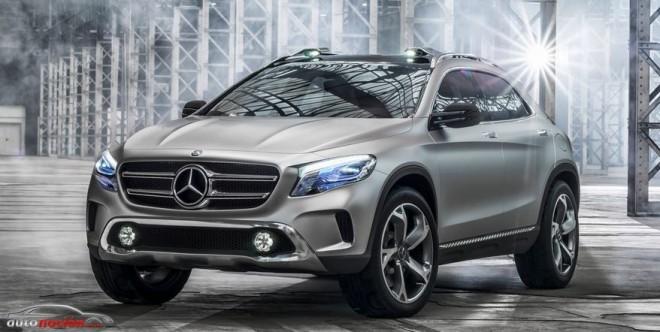 Mercedes-Benz presenta su nuevo concept: GLA