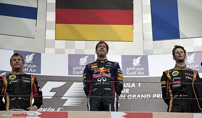 F1: La mala suerte se ceba con Alonso en otra victoria de Vettel