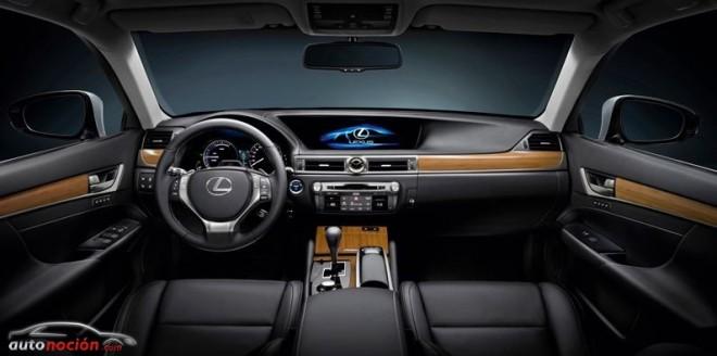 El interior del  Lexus GS 450h el mejor de su categoría