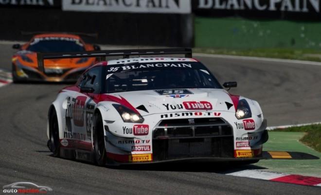 El GT-R y Lucas Ordoñez demostraron su potencial en Blancpain Endurance Series