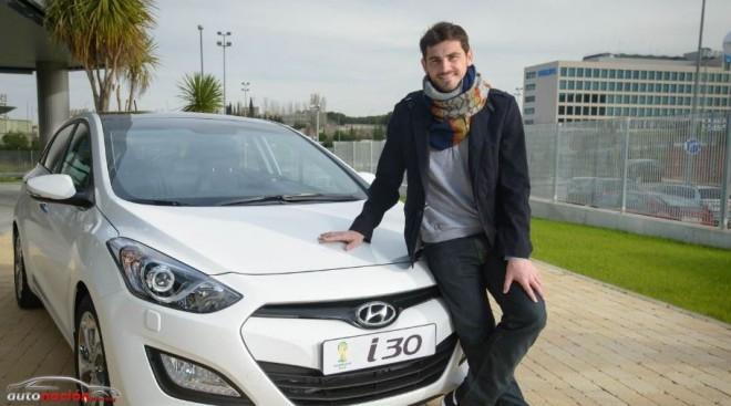 El coche de Iker Casillas: Hyundai i30