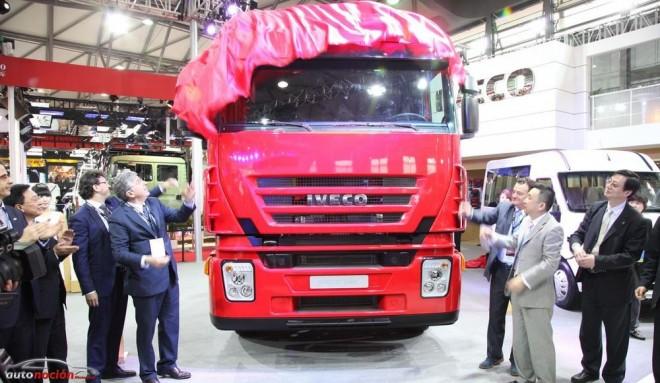 Iveco con una completa muestra de su gama en el Salón de Shanghai