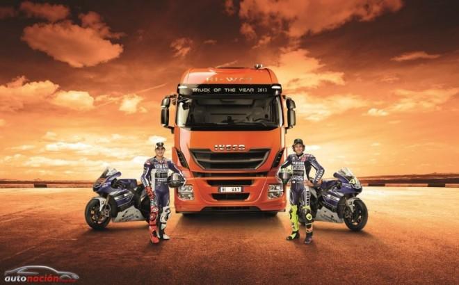 IVECO, patrocinador oficial de MotoGP y del Yamaha Factory Racing Team