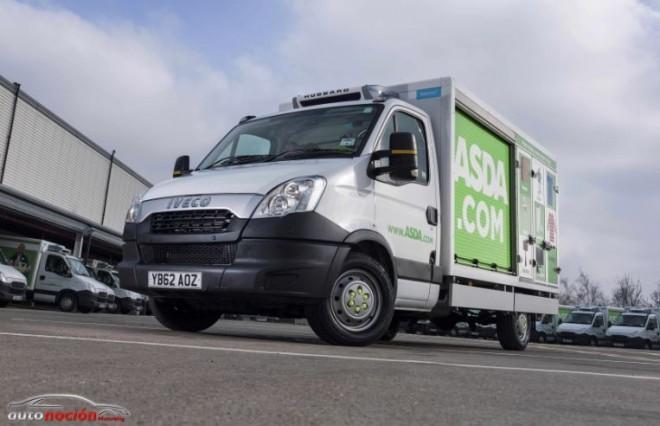 Iveco suministra 250 Daily fabricados en España a ASDA
