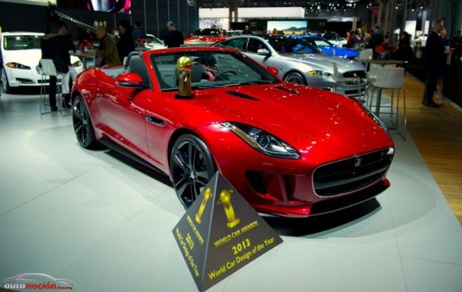 El Jaguar F-TYPE declarado «World Desing Car of The Year 2013»