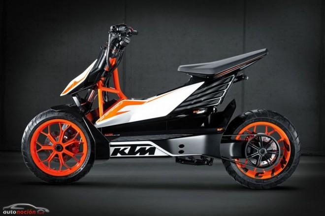 El Scooter KTM E-SPEED pasará a la producción