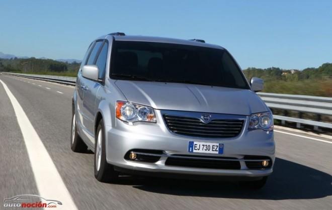 Lancia renueva su gama Voyager con el nuevo motor de 178 CV