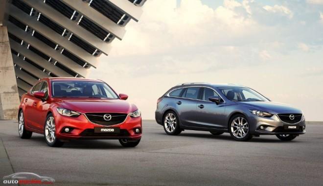Nuevo premio de diseño para Mazda: Red Dot 2013 para el Mazda6