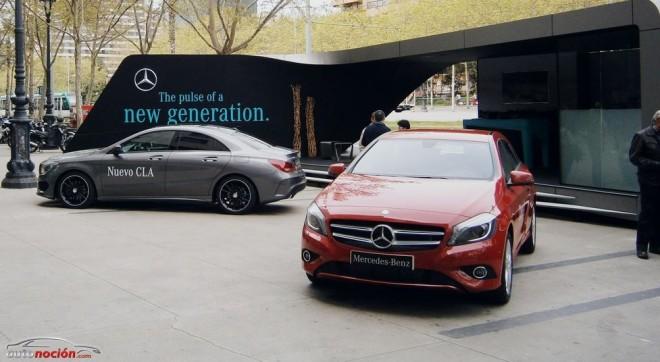 La Caravana del Mercedes-Benz CLA se pasea por las calles