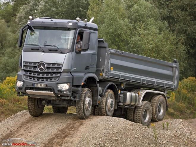Mercedes-Benz presenta sus nuevos vehículos industriales: Arocs, Atego y Citan