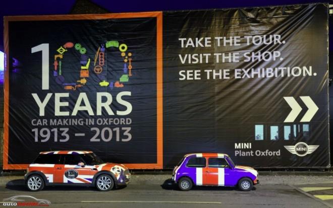 La planta de fabricación de MINI celebra 100 años de producción de automóviles