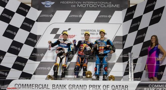 Moto3: Luis Salom confirma sensaciones y gana la carrera inaugural